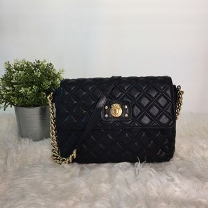 Marc Jacobs Quilted Leather Chain Shoulder Bag
